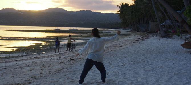 舞踏⑦シキホール島の日の出
