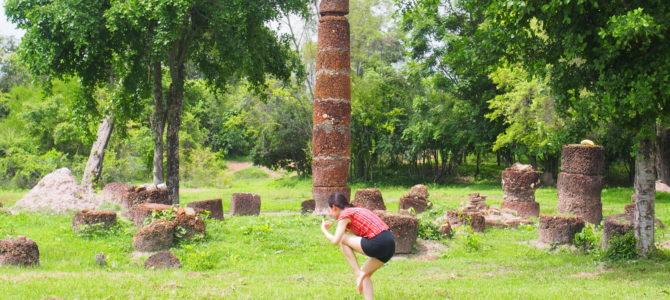 舞踏15 スコータイ遺跡群での舞踏その1