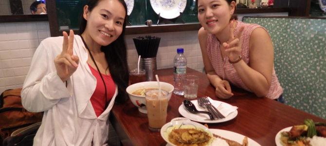 旅記事175 嬉しい人との再会と大好きなマレーシア料理