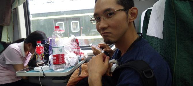 旅記事189 上海南駅から張家界の長距離列車