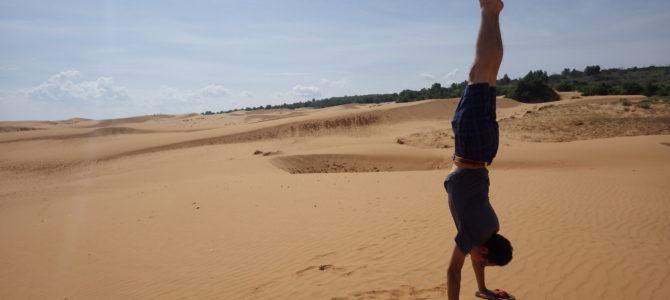 旅記事206 レンタサイクルで漁村、イエローサンデューンを探検