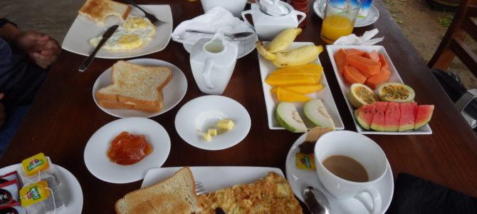 旅記事236 スリランカのボリュームたっぷり飯!