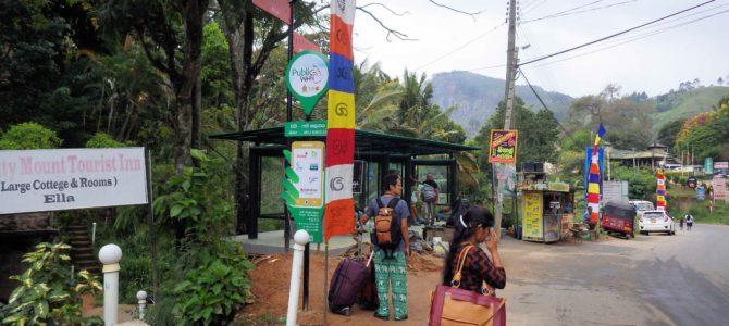 旅記事246 エッラからティッサマハーラーマにバスで移動