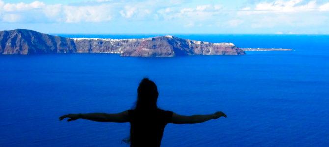 舞踏45 ギリシャ サントリーニ島 ある岩山での舞踏