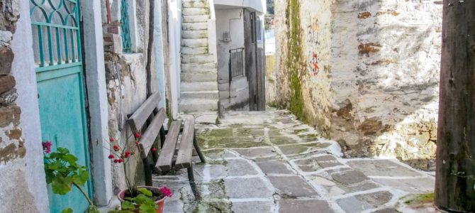 旅記事305 ナクソス島の内陸部の村々を歩く