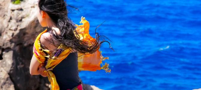 舞踏48 マルタ リビエラビーチ 強風の岬での舞踏