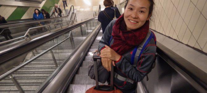 旅記事322 マルタ生活の日常そしてマドリッドに移動!空港からのバスと地下鉄