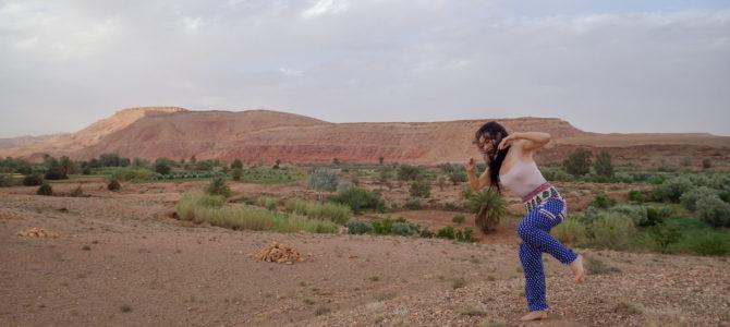 舞踏50 モロッコ アイトベンハッドゥでの舞踏