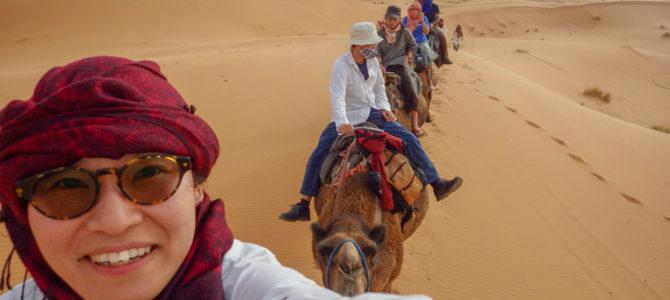 旅記事334 サハラ砂漠一泊ツアー