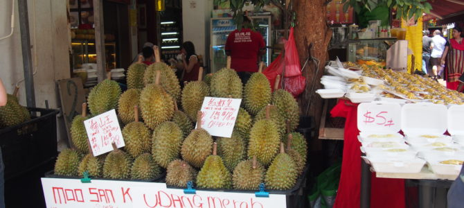 旅記事57 シンガポールの中国、チャイナタウンのホーカーズ