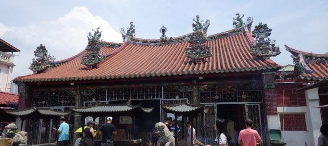 旅記事79 観音寺とペナン博物館と万琵の不調