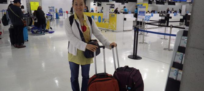 旅記事110 成田から、7か国目の台湾へ