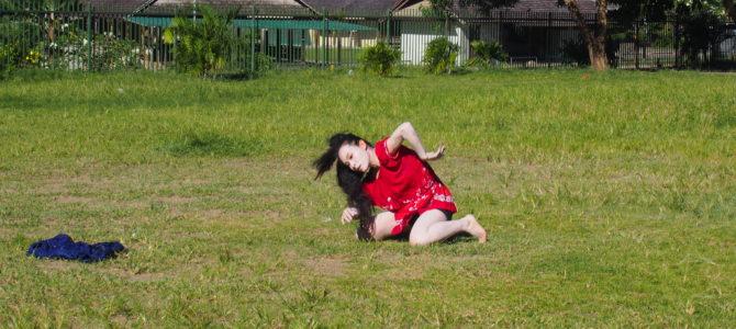 舞踏18 ココポ小学校での舞踏