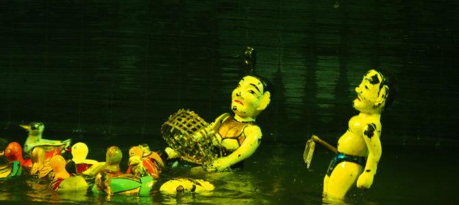 旅記事200 タイ湖方面散策と玉山祠と水上人形劇 雨の被害に遭う