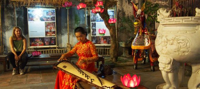 旅記事201 ハノイ料理と伝統芸能カーチュを堪能