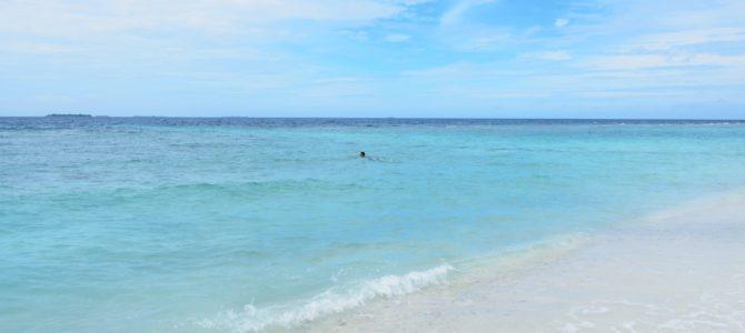 旅記事232 ウクラス島の海でのんびり~