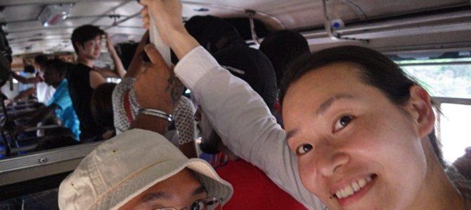 旅記事240 ダンブッラからキャンディにバス移動、スリランカ鉄道の切符を買う