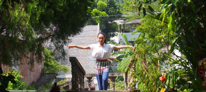 舞踏31 アンバランゴダのホームステイ先での舞踏