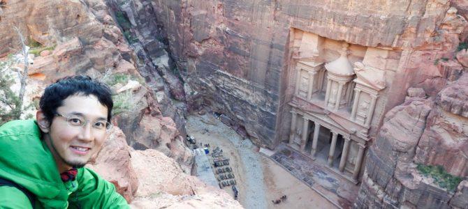 旅記事282 ペトラ遺跡2日目 エル・ハズネを上から見た!とその他の遺跡