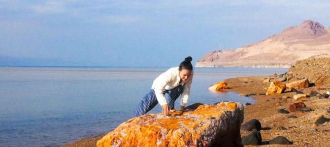 舞踏37 世界で一番低い場所 ヨルダンの死海での舞踏