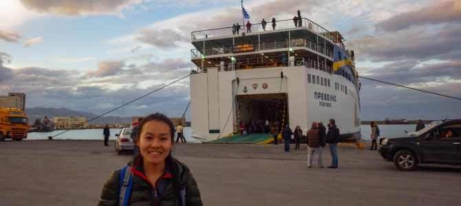 旅記事300 ハニアからレシムノ、イラクリオン、サントリーニ島へ