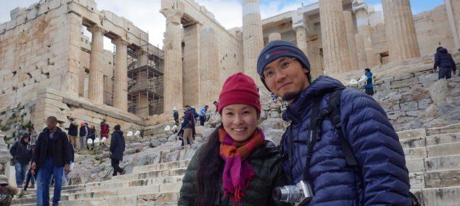 旅記事308 世界遺産アクロポリス遺跡とパルテノン神殿