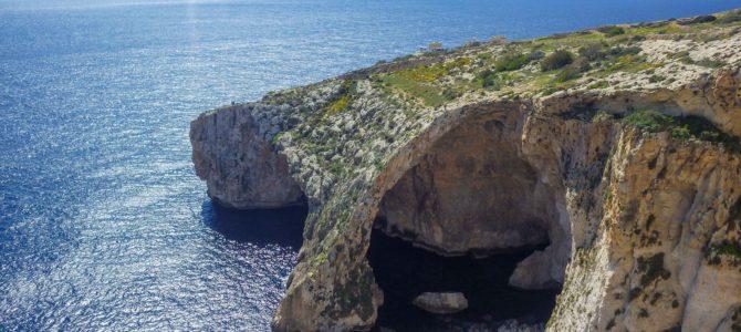 旅記事314 マルタの青の洞門 ブルー・グロットの美しさに驚いた
