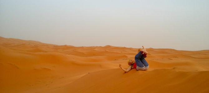 舞踏49 モロッコ サハラ砂漠での舞踏