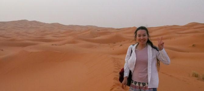 旅記事335 砂漠からの帰還、幽霊に遭遇
