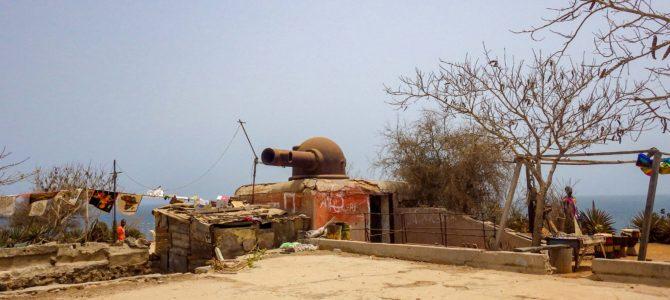 旅記事352 奴隷貿易の拠点だったゴレ島はアートの島になっていた。